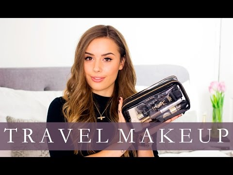 Make Luxury Travel Makeup Bag (For Paris!) | Hello October Pictures