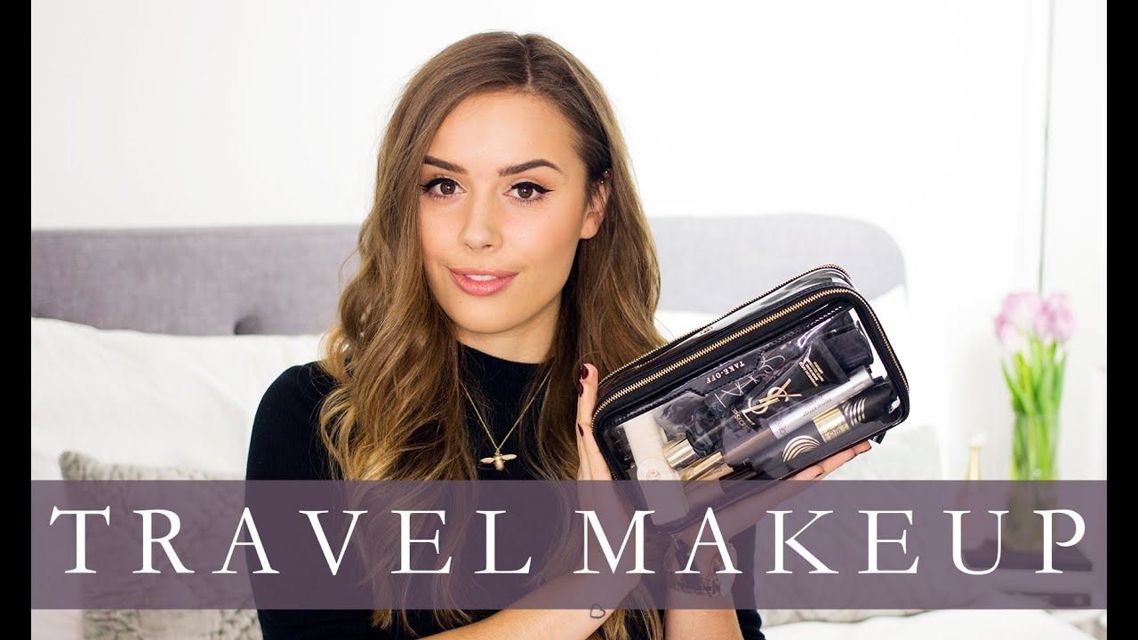 3210f6925f8 Luxury Travel Makeup Bag (For Paris!)   Hello October - YouTube