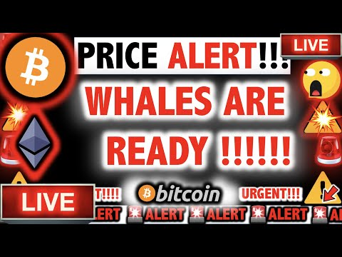 WHALES READY TO SPLASH THE BITCOIN & ETHEREUM PRICE?! ⚠️Crypto TA Today/ BTC Cryptocurrency News Now