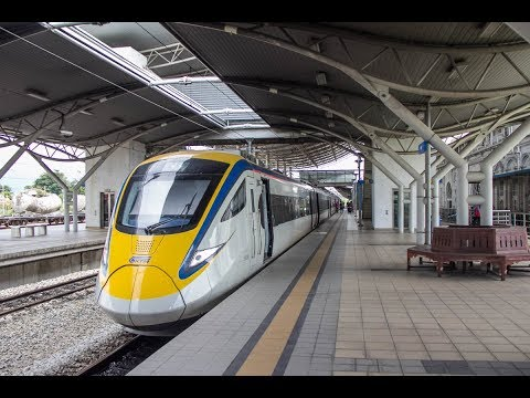 Malaysia's Intercity Electric Train Service ETS