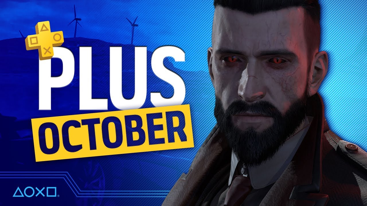 PlayStation Plus Monthly Games - October 2020
