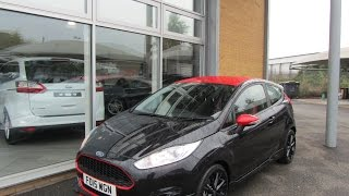 Ford Fiesta Zetec S Black Edition FD15WGN