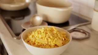 Corn Risotto with Sweet Corn Broth