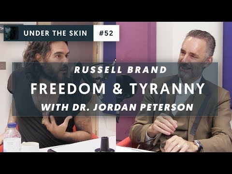 NEW: Jordan Peterson & Russell Brand on FREEDOM and TYRANNY