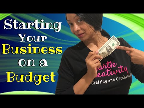How to Start a Craft Business on a Budget