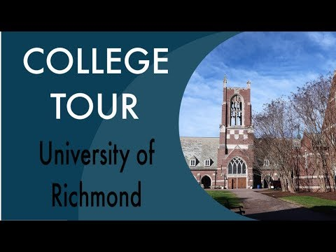 University of Richmond | College Campus Tour & travel home