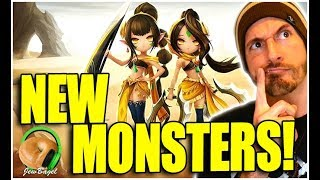 NEW MONSTERS COMING TO SUMMONERS WAR!!