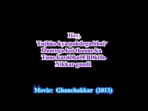 Oye Ghanchakkar Babu Lyric