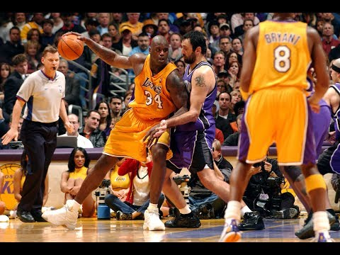 "Shaq Calls Vlade Divac ""Terrible"" During Game"