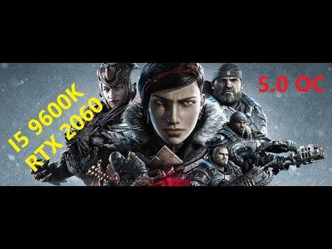 Gameplay Gears of War 5 - RTX 2060 - i5 9600k Oc 5 ghz