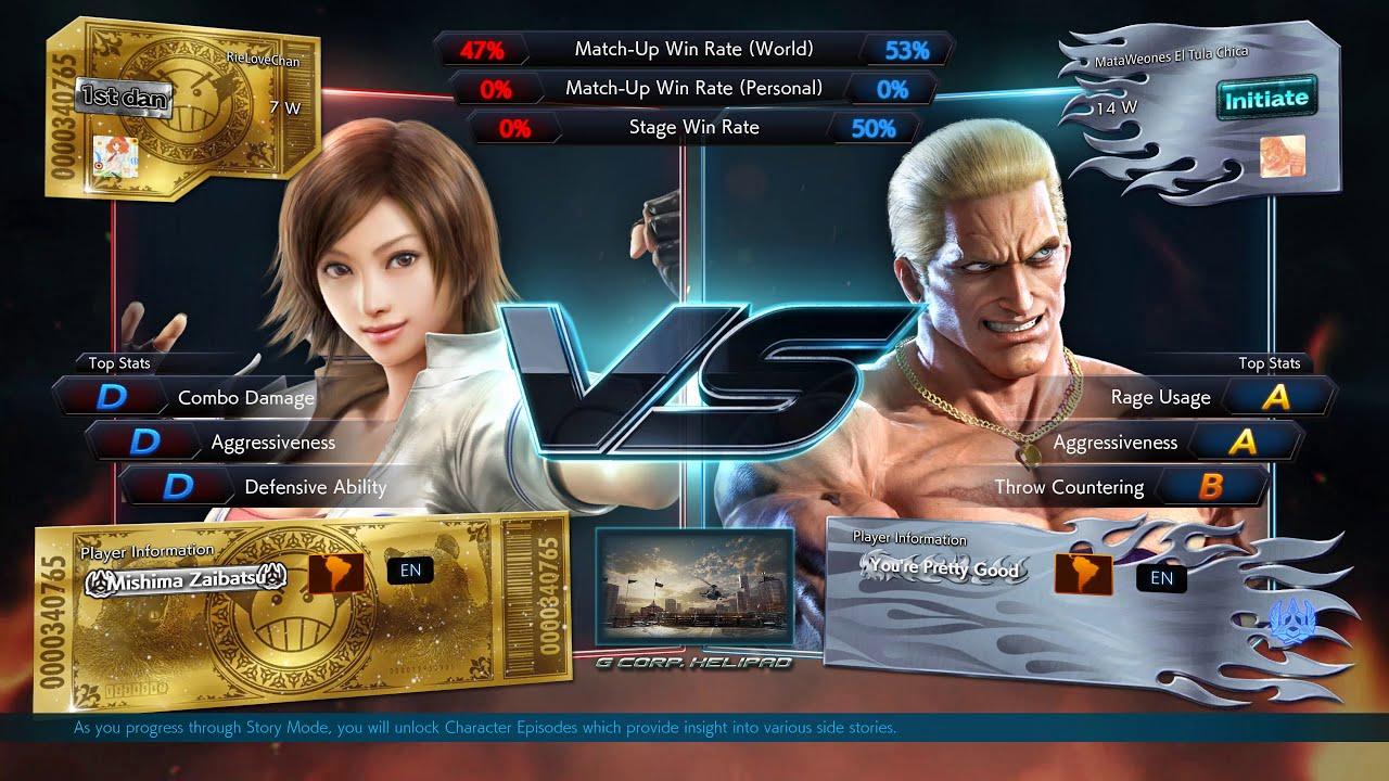 Tekken 7 Pc Online Gameplay 06 Youtube