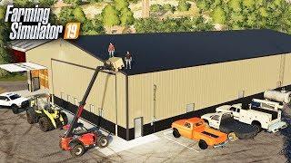 FS19- MR. BUTTLICKER CONSTRUCTION CO. BUILT ME A NEW SHOP FOR ROLLING COAL CUSTOMS