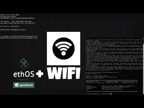 How To Install Wireless On EthOS
