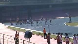 100m JUVENIL Final INTERCOLONIAL 2012