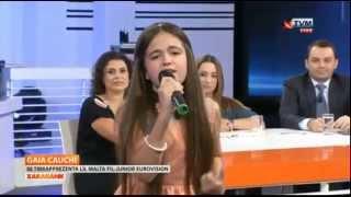 Gaia Cauchi - The Start (Malta Junior Eurovision Song Contest 2013) BETTER QUALITY
