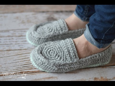 Womens Loafer Slippers Youtube