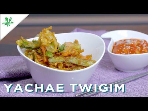 🇰🇷 BAKWAN SAYUR ALA KOREA 🇰🇷   Yachae Twigim (야채 튀김)