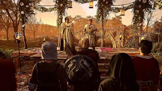Assassin S Creed Valhalla Wedding Ceremony Drinking Romance Mini Games Youtube
