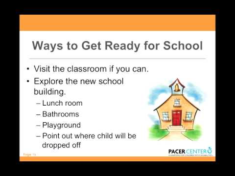 Making the Move from Early Childhood Special Education to Kindergarten