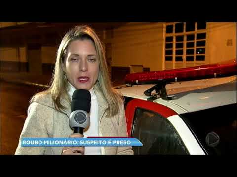 Suspeito de roubo milionário a transportadora no Paraguai é preso
