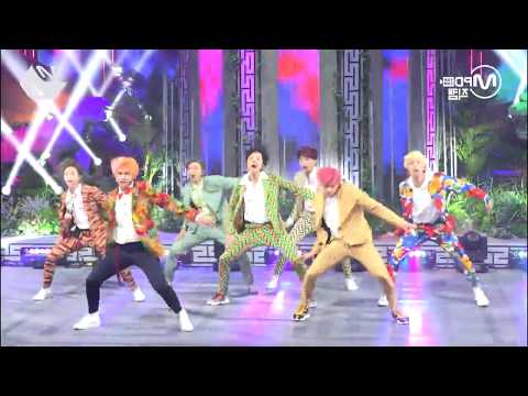 MIRROR IDOL DANCE MIRROR  MV COMEBACK SHOW M2 BTS FANCAM
