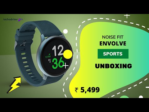NoiseFit Evolve Smartwatch with AMOLED Display for ₹ 5,499 only | Unboxing (Hindi) 🔥