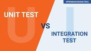Unit vs Integration Tests