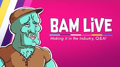 How we got our Animation Industry Jobs QnA! : Bam Live Stream Wk5