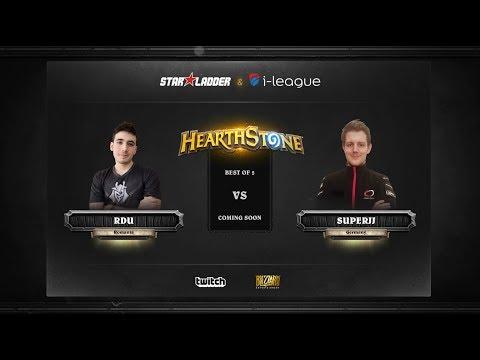 [RU] RDU vs SuperJJ | SL i-League Hearthstone StarSeries Season 3 (23.05.2017)