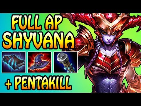 FULL AP SHYVANA + PENTAKILL | League of Legends thumbnail