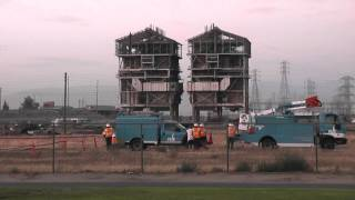 The old PG&E Plant was demolished in Bakersfield,CA 08-03-13