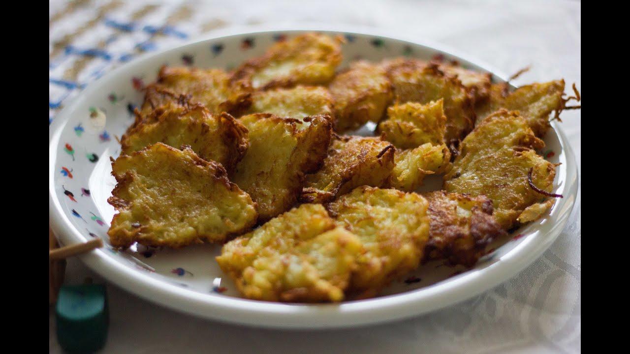 Latkes di patate cucina ebraica di chanukk youtube for Ricette in cucina
