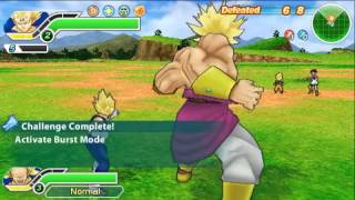 Dragon ball Z Tenkaichi Tag Team 4 PSP - Brutal survival mode - MY BEST RECORD