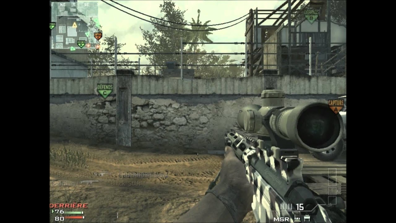 Mw3 Msr Sniper - Year of Clean Water
