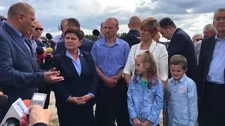 WIZYTA Premier Beaty Szydło w Trzecianowie gm. Borek Wlkp.  - www.gostyn24.pl