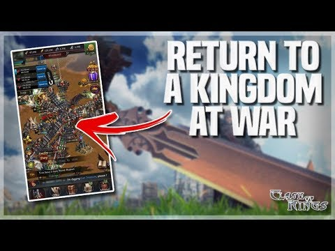 MY NEW CASTLE - P6 EVERYTHING - KINGDOM AT WAR - CLASH OF KINGS SHOW