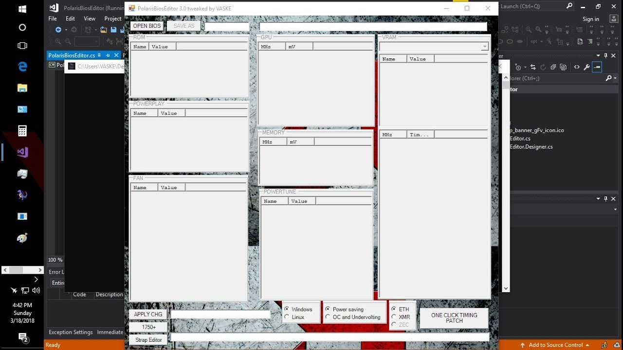 polaris bios editor download windows
