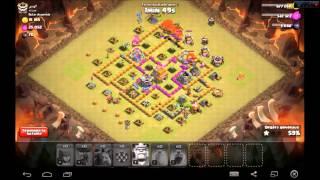 [Tutoriel] - Clash Of Clans - Comment réussir une attaque au Ballon-Serviteur en étant hdv 7 ?