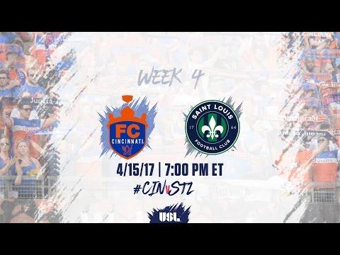 USL LIVE - FC Cincinnati vs Saint Louis FC 4/15/17