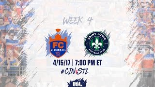 FC Cincinnati vs St. Louis full match