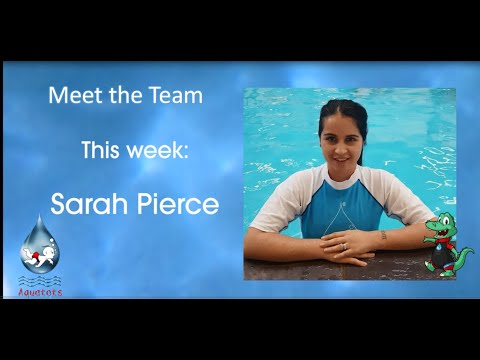 Meet the Team | Meet Aquatots Teacher Sarah P