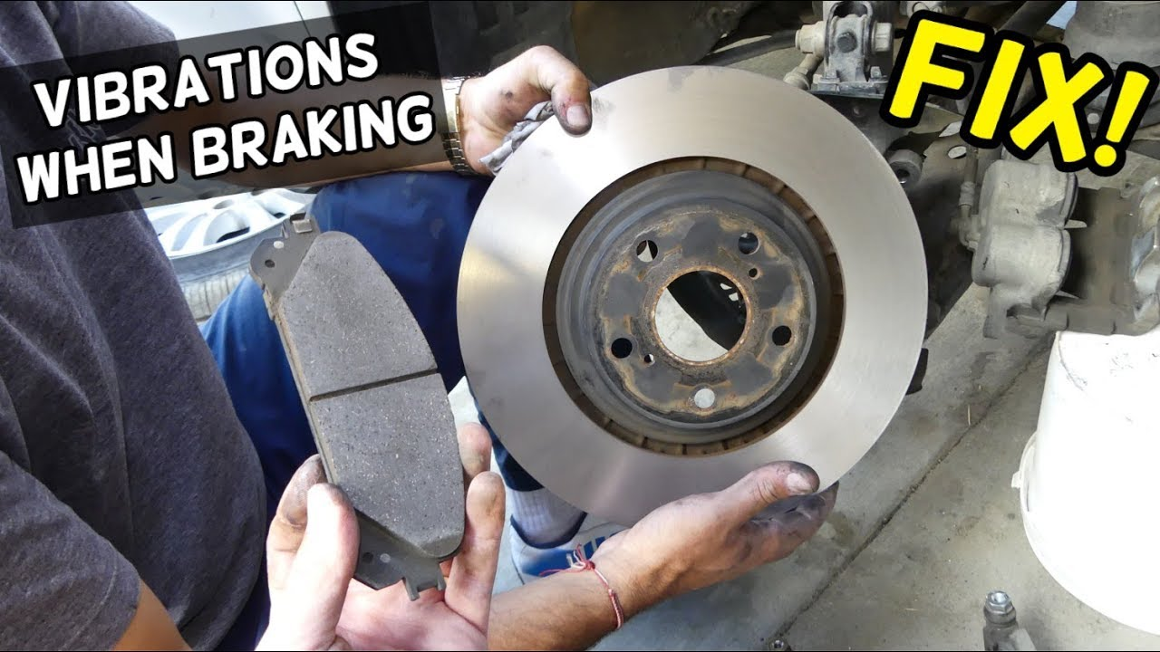 Steering Wheel Vibrations When Braking Fix