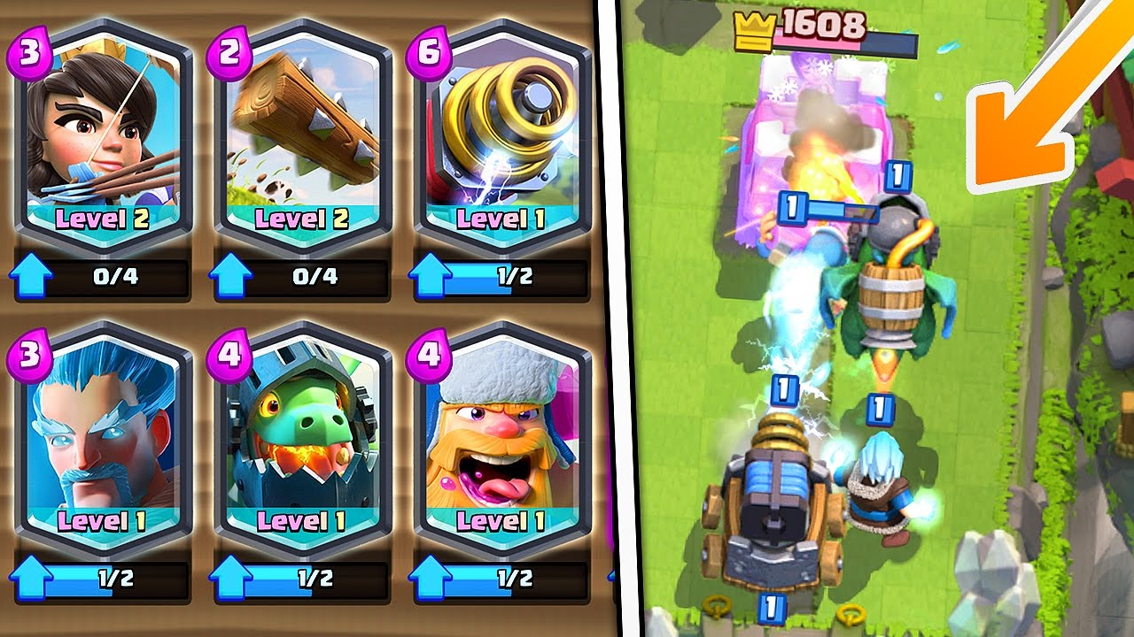 Can this all legendary deck win in clash royale for Clash royale deck arc x