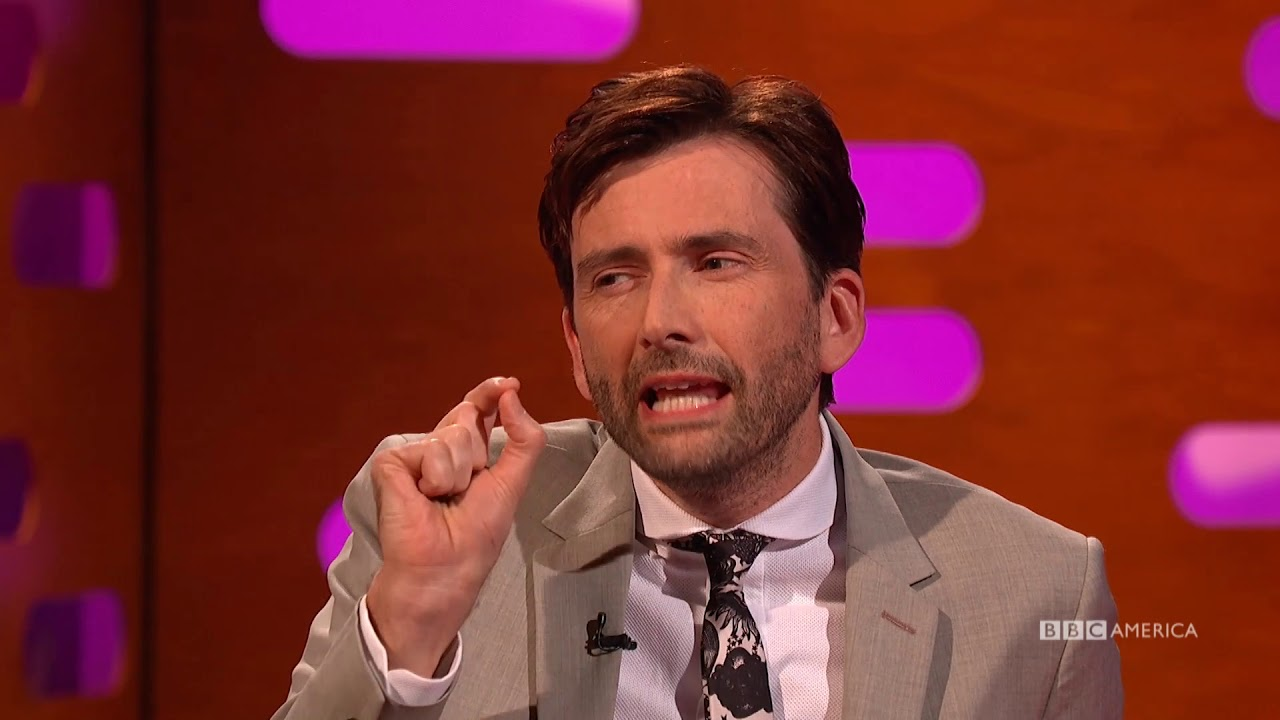 David Tennant Got A Phone Call From The New 'Doctor Who'  - The Graham Norton Show
