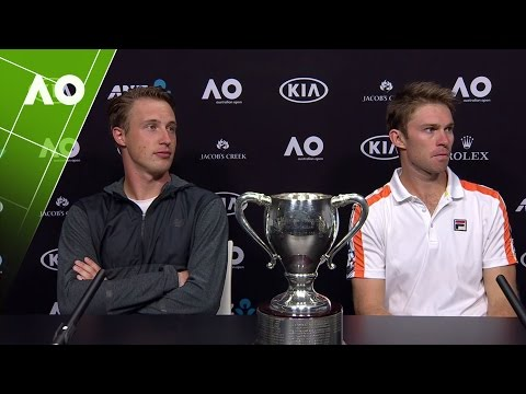 Henri Kontinen/John Peers press conference (Final) | Australian Open 2017