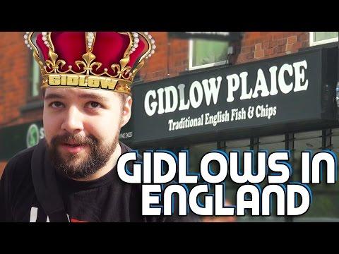 GIDLOWS IN ENGLAND   U.K. Roadtrip