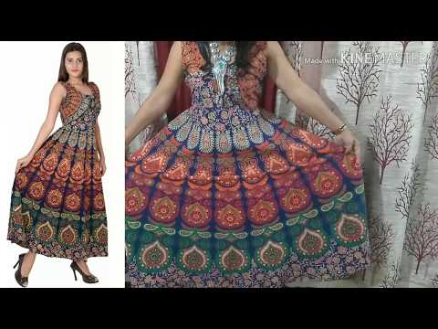 anarkali-party-wear-gown-form-amazon|amazon-jaipuri-dress-review-and-try-on|