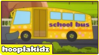 School Bus Song | Original Songs For Kids by Hooplakidz