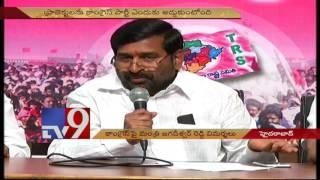 Congress conspires to block TS Projects Jagadeeshwar Reddy TV9
