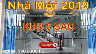 Bán Nhà Bình Chánh - Nhà Mới 2019 Khu Đô Thị 5 Sao Bình Chánh ( 6x16)m2 - Sổ Hồng riêng